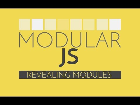 Modular Javascript #3 – Revealing Module Pattern Javascript Tutorial