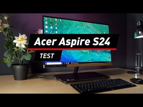 Acer Aspire S24: Schlanker All-in-One-PC im Test