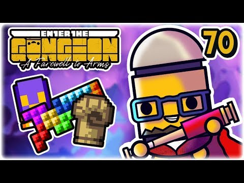 Bouncy Helix Tetrominator | Part 70 | Let's Play: Enter the Gungeon: Farewell to Arms | PC HD