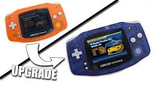 Mejorando La Pantalla De Una Gameboy Advance (version 32 Pins)