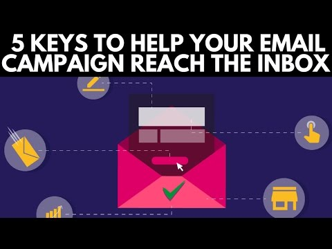 5 keys to help your email campaign reach the inbox