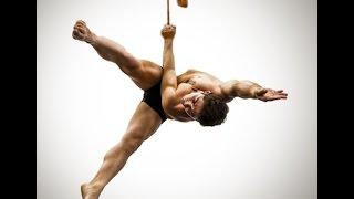 Aerial Straps Tutorial-Meathook Technique   Cirque Athletics