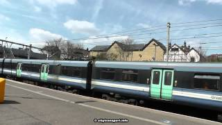 preview picture of video 'Eastbound Class 315 calls at Ilford Station'