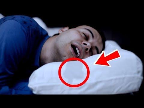 ÇOK TEHLİKELİ; Uykuda Ağzınızdan Salya Akıyorsa Derhal Doktora Gidin