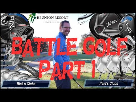 BATTLE GOLF Pt1 at Reunion Golf Resort, Orlando