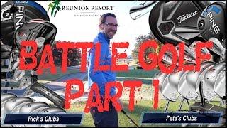 BATTLE GOLF Pt1 at Reunion Golf Resort, Orlando