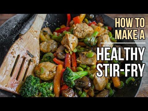Video How to Make Perfect, Healthy Stir-fry  /  Cómo Preparar el Salteado