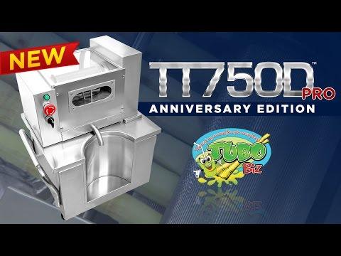 TT750D Pro Sugarcane Juicer Machine NEW Anniversary Edition. Better than ever!