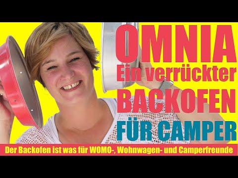 Der OMNIA Backofen! Ideal für Wohnmobil, Kastenwagen, Wohnwagen, Camping. Ein Alleskönner.