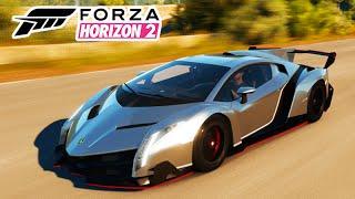 Forza Horizon 2: ROLÊ De LAMBORGHINI VENENO! #37