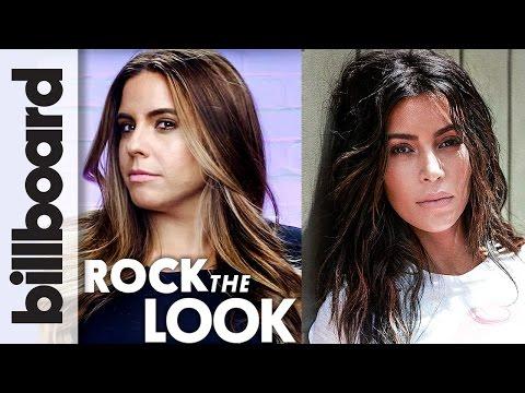 Kim Kardashian Makeup Tutorial ft. Her Makeup Artist Hrush Achemyan | Billboard Rock The Look