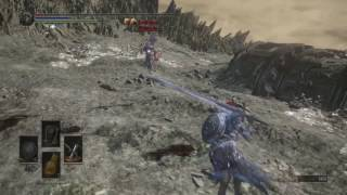 DARK SOULS™ III another fight with the Boss Thanitose