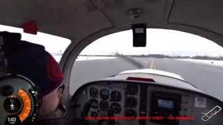 Student Pilot - Solo Flight around the Pattern at KISP