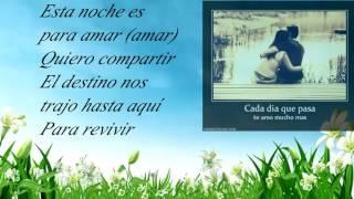 Luis Fonsi  Esta Noche Es Para Amar(letra)