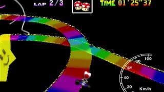"Rainbow Road SC 3lap World Record 3'56""36 (PAL)"