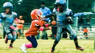 🔥Welcome All Panthers 6U vs. North Henry Tigers Youth Football Highlights
