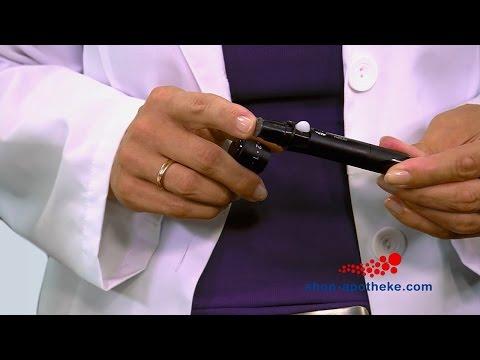Blutzucker einfach und sicher mit Accu-Chek Aviva messen