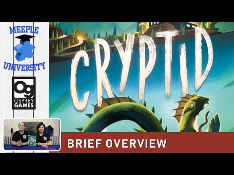 Cryptid Board Game – Brief Overview (PUNCHY? Concise Rules Overview here!)