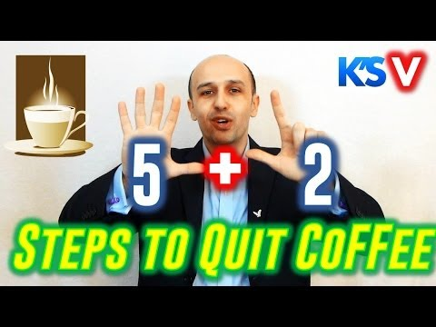How to STOP Drinking Coffee in 7 Simple Steps