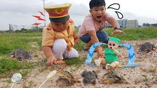 Trò Chơi Bé Doli Phiêu Lưu Ký ❤ ChiChi ToysReview TV ❤ Đồ Chơi Trẻ Em Baby Fun Song