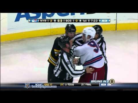 Shawn Thornton vs. Derek Boogaard