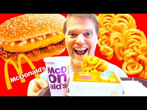 McDonalds GOLDEN PROSPERITY BURGER FOOD REVIEW –  Fast Food Friday Food Review – Greg's Kitchen