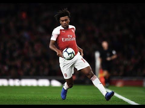 Alex Iwobi - Ultimate Dribbling Skills