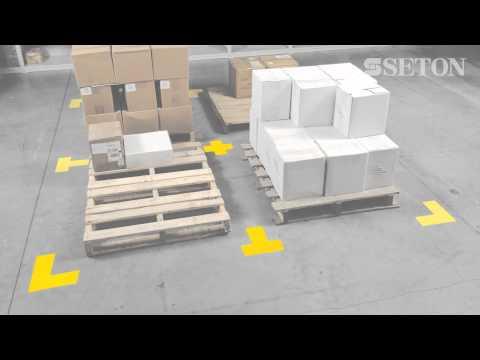 Toughstripe floor marking tapes | Seton UK