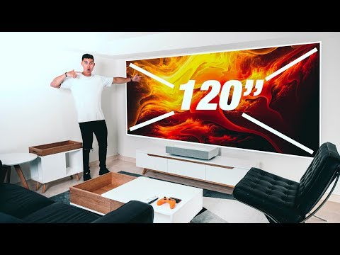 External Review Video pOv5xqQQBnk for LG CineBeam 4K UHD Projectors (HU85LA Laser & HU70LA LED)