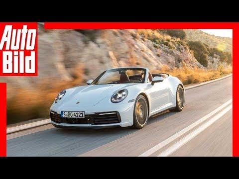 Porsche 911 Carrera S Cabrio (2019) Fahrbericht / Details / Test / Review