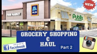 COME SHOP WITH ME : PUBLIX GROCERY RUN ( Budget Shopping ) VLOG
