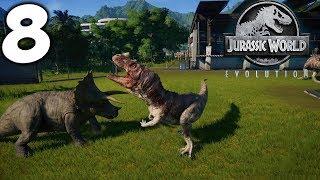 Jurassic World Evolution. Битва динозавров