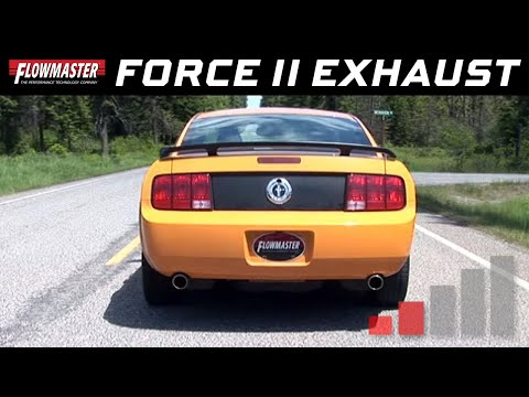 2005-09 Ford Mustang 4.0L - Force II Cat-Back Exhaust System