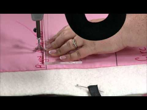 Quilters Academy: Longarm Basics: Rulers - Using Circle Rulers (DVD)