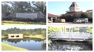 Vintage 1994 Disney World Tour of the Riverside Resort, Formerly Dixie Landings