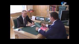 Великий Новгород посетил полномочный представитель Президента в СЗФО Александр Беглов