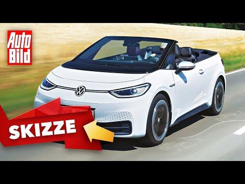 VW ID.3 Cabrio (2021) | So könnte der ID.3 als Cabrio kommen | Skizze