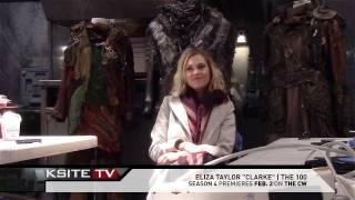 The 100 Season 4 on Set: Eliza Taylor (Clarke) Interview