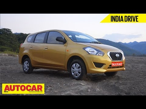 2015 Datsun Go+ MPV | India Drive Video Review | Autocar India