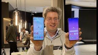 Samsung Galaxy S10 Lite und Note 10 Lite erster Eindruck und Infos