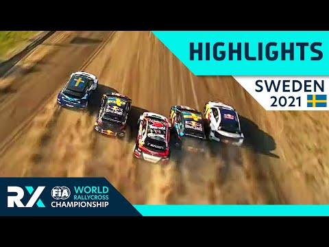 世界ラリークロス 第4戦スウェーデン(ホーリエス)2021年 RXクラスの予選Day1ハイライト動画