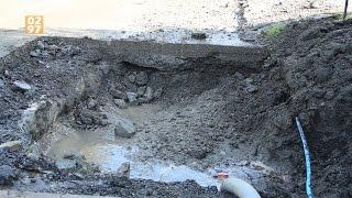 Bewoners Baambrugse Zuwe hele dag zonder water