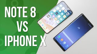 Note 8 vs iPhone X, ¿cuál elegir?