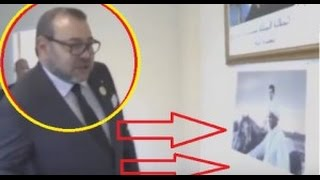 هذه هي الصورة التي أثارة انتباه الملك محمد السادس بقنصلية المغرب بأورلي