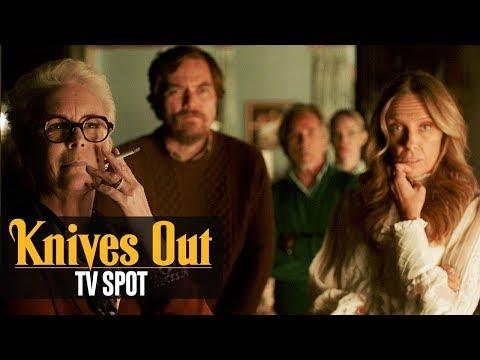 """Knives Out (2019) Official TV Spot """"Conjecture""""– Daniel Craig, Chris Evans, Ana de Armas"""