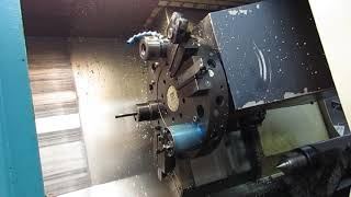 Clausing Storm Model 100 Series 600 CNC Turning Center with Tailstock and Fanuc OT CNC Control