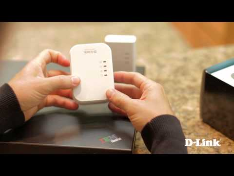 Getting Started PowerLine AV 500 Wireless Extender Kit (DHP-W311AV)