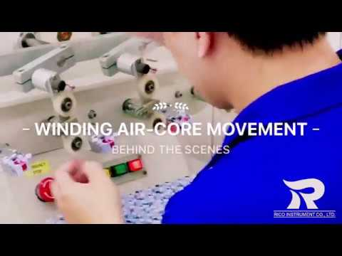 Behind the Scenes Winding Air Core Movement