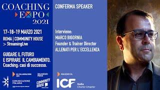 Youtube: Coaching Expo 2021 | Open Talk | IL CORAGGIO DELLE SCELTE | in collaborazione con Allenati per l'Eccellenza