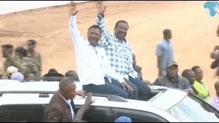 Mudavadi, Wetang'ula join Raila at BBI rally - VIDEO